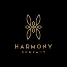 Luxury Beauty Initial / Letter H Logo Design