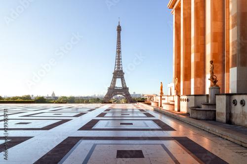 Eiffel Tower seen from Trocedera - 293055751