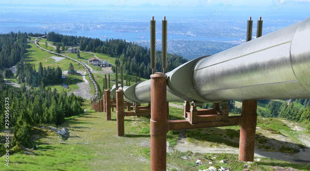 Obraz Oil Pipeline fototapeta, plakat