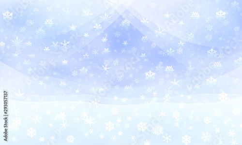 Photo 軽やかな雪降るクリスマスの背景
