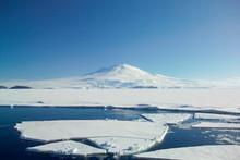 Mount Erebus From Mc Murdo Sou...