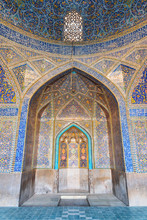 Fabulous View Of Mihrab Inside...