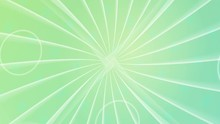 Abstract, Straight Lines, Rotating In Circles, Green Turbines And Sparkling Reflections