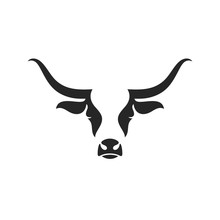 Scottish Highland Cow. Logo. I...