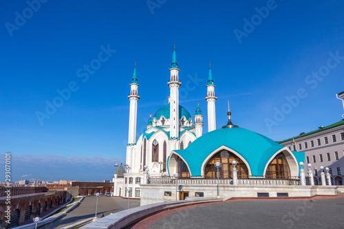 Stampa su Tela  Kul Sharif mosque on the territory of Kazan Kremlin
