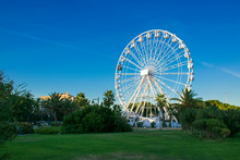 Ferris Wheel Of Olbia, Sardinia