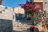 Fototapeta Na drzwi - Old entrance to a Greek house