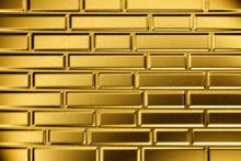 Gold Brick Wall