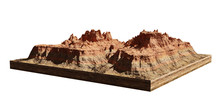 Model Of A Cross Section Of A ...