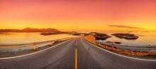 Atlantikstraße In Norwegen - Panorama
