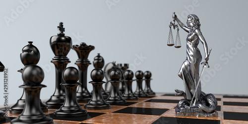 Fotografia, Obraz Ausrichtung der Verhandlungsstrategie und der Prozesstaktik