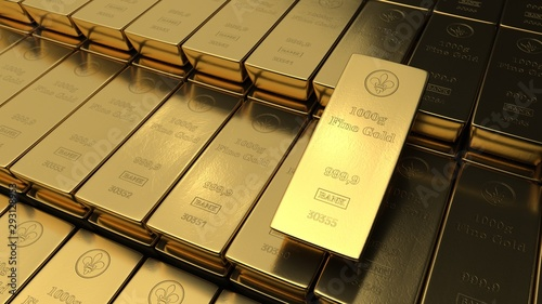 Photo Fine Gold Bars 1000g