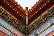 Traditional Chinese palace roof details