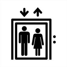 Elevator Icon. Vector Illustra...