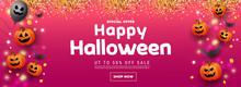 Happy Halloween Website Banner...