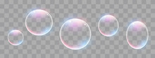 Realistic Soap Bubbles With Ra...