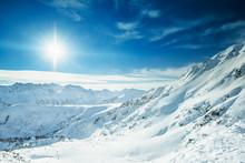 Pirin Mountains In Winter In Bulgaria