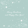 Christmas card decoration elements, vector illustration
