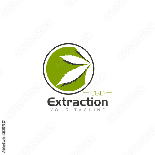Logo Cbd Extraction Negative Space And Shades Cannabis Leaf Vector Buy This Stock Vector And Explore Similar Vectors At Adobe Stock Adobe Stock