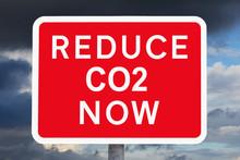 Climate Change Concept: REDUCE...