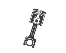 Piston Vector Icon Illustratio...