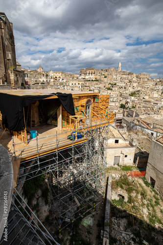 Photo  Bond apartment from the movie  No Time to Die in Sassi, Matera, Italy