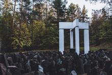 Bikernieki Memorial To The Hol...