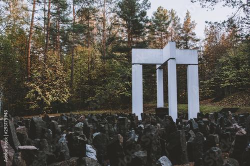 Fotografía Bikernieki Memorial to The Holocaust victims of World War II in Riga, Latvia