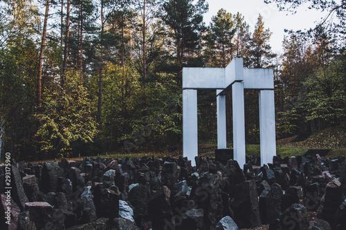 Cuadros en Lienzo Bikernieki Memorial to The Holocaust victims of World War II in Riga, Latvia