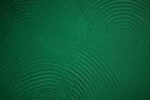 Green Texture Paint Wall Background