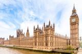 Fototapeta Big Ben - Houses of Parliament and Big Ben in London