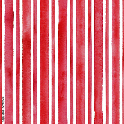 watercolor-red-stripes-on-white-background-white-and-red-striped-seamless-pattern