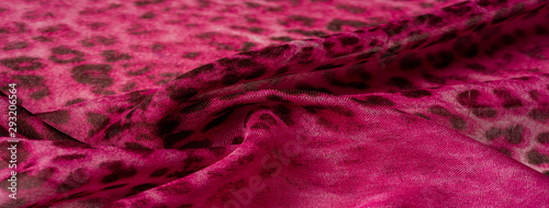Background texture. leopard silk bright fabric african themes