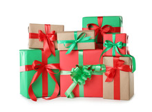 Different Christmas Gift Boxes...