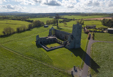 Ardfert Friary Aerial View. Co...