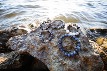 Natural Stone Bracelet, Hand Made Jewelry