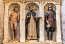 Sculptures Of Triad Of Catholi...