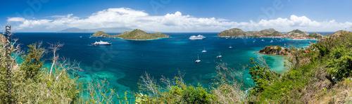 Fotografie, Obraz Guadeloupe - Panorama de Basse-Terre depuis Les Saintes