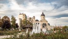 Orthodox Cathedral In Bacau Ci...