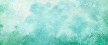 Blue Green Watercolor Paint Sp...
