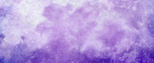 Purple Watercolor Paint Splash...