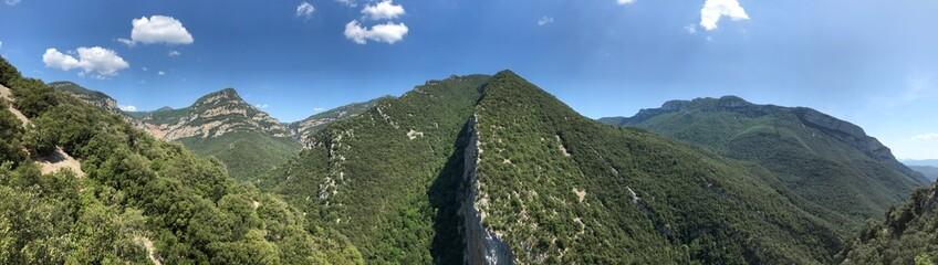 Krajobraz Pirenejów