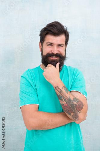 Vászonkép  Hipster barber