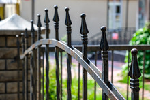 Metal Fashion Fence. Decorative Wrought Iron Fence