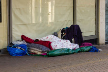 Homeless On The High Street