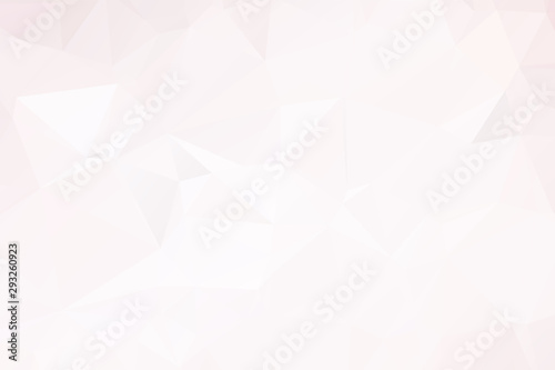 Fototapety, obrazy: abstract background consisting of triangles, vector illustration