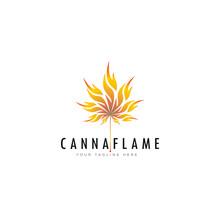 Creative Logo Cannaflame, Cann...
