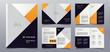 premium business brochure pages design template