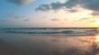 BEACH SUNSET ROLL 4K23.9FPS 4K RES