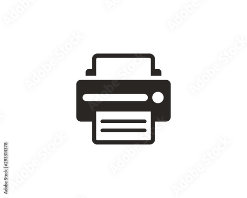 Fotomural  Printer icon symbol vector